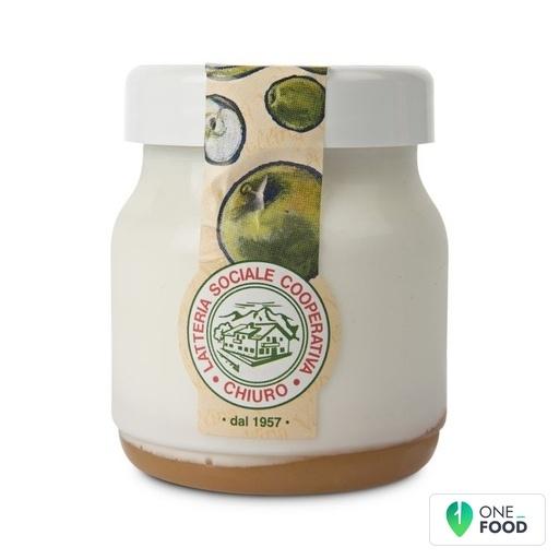 Whole Yoghurt With Extra Apple Jam Chiuro